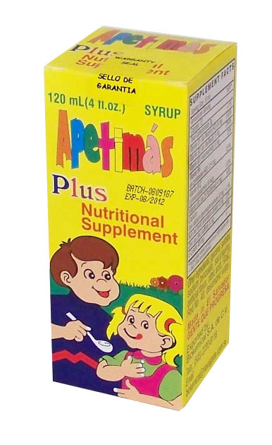 Apetimas Plus 120 ml