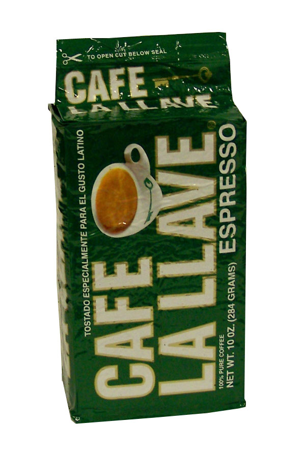 Cafe La Llave Esp Ground 10oz - (12 unit box)
