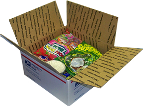Colombian box special- snacks and candies