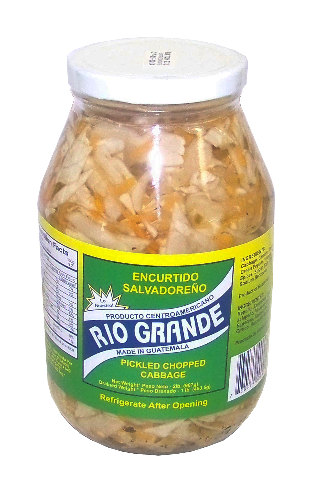 Encurtido Salvadoreño RG 32oz (12 unit box)