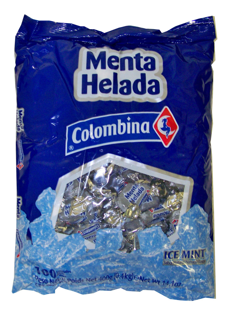 Menta Helada 100/4g - (18 unit box)