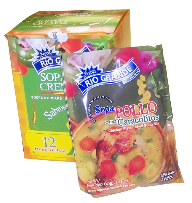 Sopa de Pollo con Fideos RG 12/2.11oz (12 unit box)