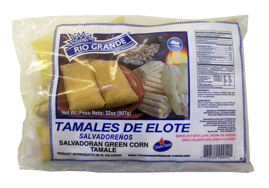 Salvadoran Green Corn Tamale